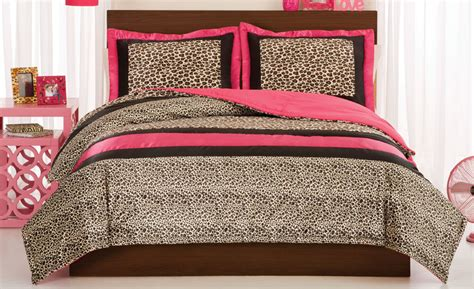 cheetah bed set leopard or comforter with shams