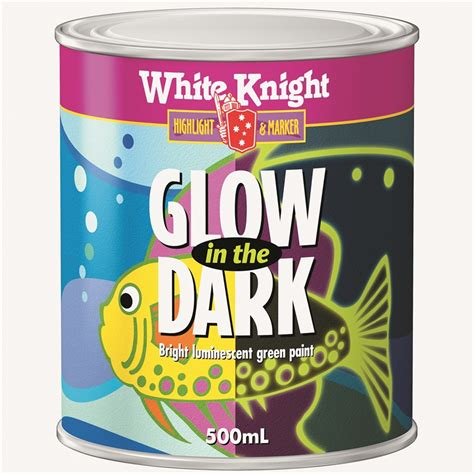 glow in the paint outdoor white 500ml green glow in the paint bunnings