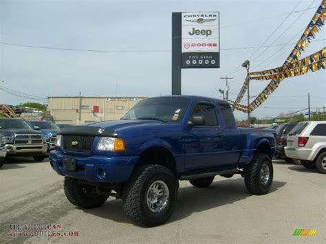 Ford Ranger 4x4 by 2003 Ford Ranger Edge Supercab 4x4 In Sonic Blue Metallic