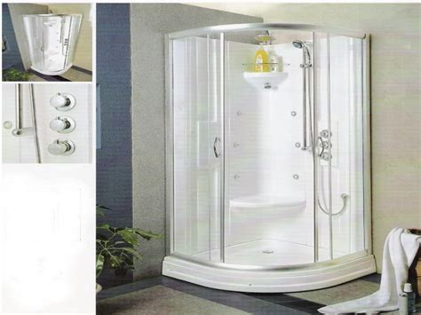 Small Bathroom Ideas With Shower Stall by Shower Inserts With Seat Shower Stalls For Small Bathroom