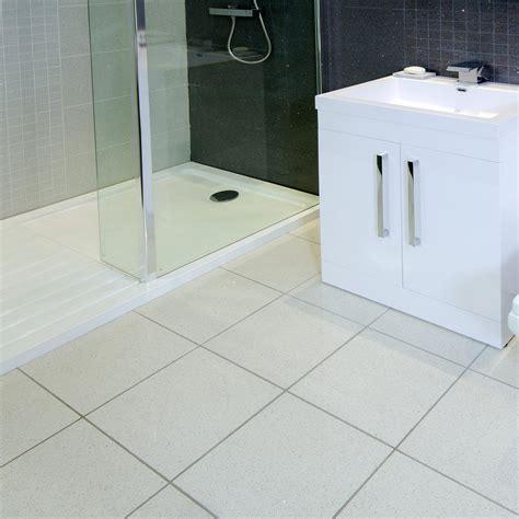 White Tile Bathroom by White Bathroom Floor Tiles Home Designs