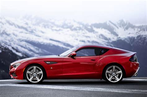 Bmw Coupes by Bmw Reveals Stunning Zagato Coupe At Villa D Este Autoblog