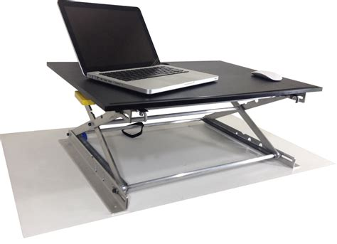 standing height table desk riseup table top affordable standing desk