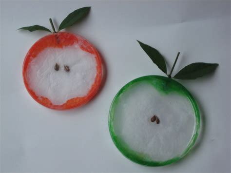 apple craft for 4 recycled craft apples