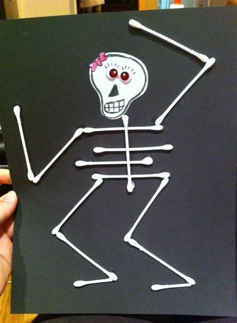 skeleton craft for crafts for thenerdynanny