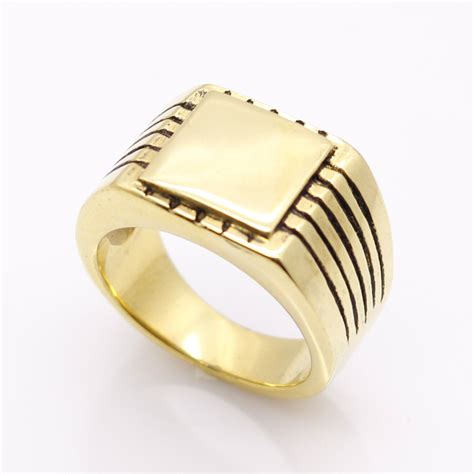 steel jewelry jewelry s high polished signet solid stainless