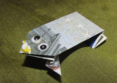 origami dollar frog money origami frog