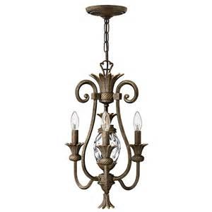 mini in chandelier buy the plantation 3 light mini chandelier