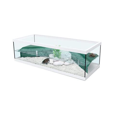 vivarium tortue d eau quot tortum 100 quot avec filtre blanc