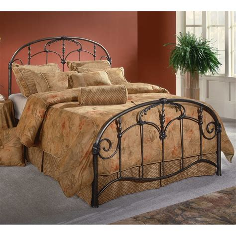 antique iron bed jacqueline antique iron bed in brushed pewter humble