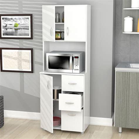 storage cabinets kitchen kitchen cabinet storage white microwave stand shelf 3