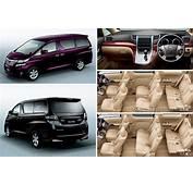 2012 Toyota Vellfire Picture Gallery  Automobile