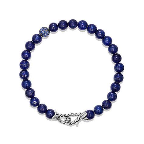 david yurman bead bracelet david yurman spiritual bracelet in blue lapis
