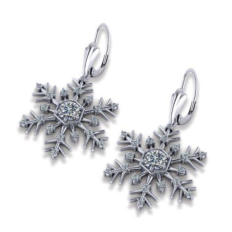 jewelry designs earrings snowflake earrings jewelry designs