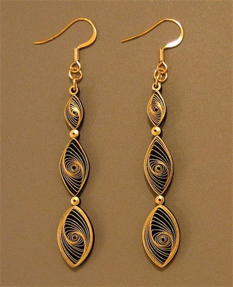 quilled jewelry tutorials step by step all things paper quilling 101 gilded earrings