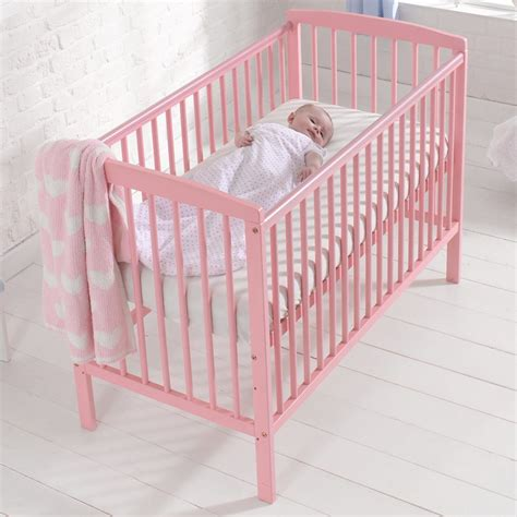 brighton baby nursery cot bed toddler crib with teething
