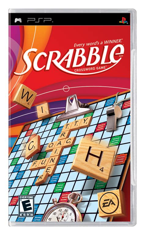 scrabble for wii ea launches scrabble on ds and psp handhelds takes on tech