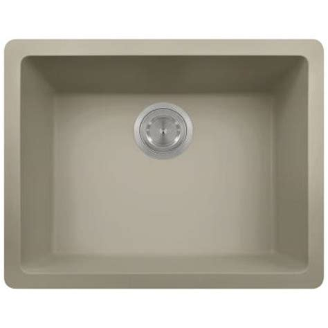 slate kitchen sink polaris sinks undermount granite 22 in single bowl