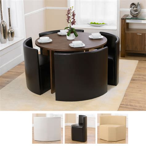 dining tables for 4 marbella walnut dining table and 4 black bentley
