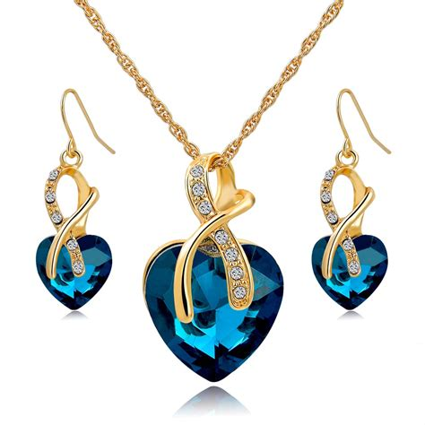 for jewelry aliexpress buy gift gold plated jewelry sets for