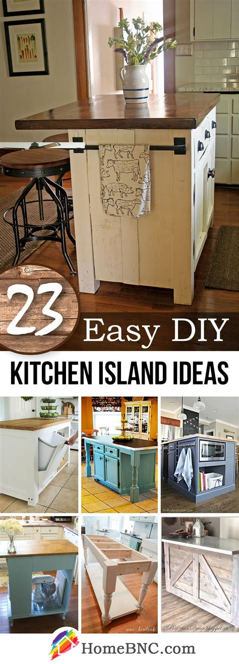 diy kitchen island ideas 23 best diy kitchen island ideas and designs for 2017