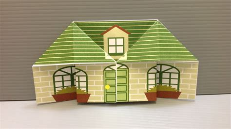origami house free origami house paper print your own houses