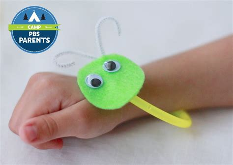 pbs crafts for glow worm bracelets crafts for pbs parents