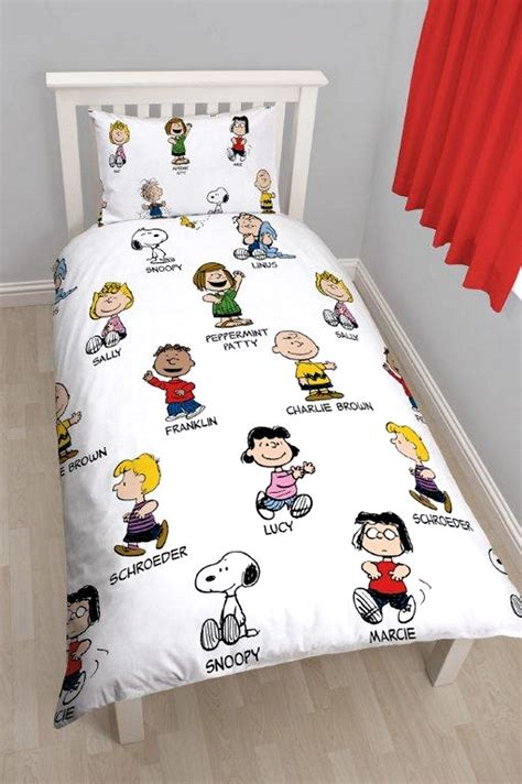 snoopy bedding peanuts snoopy single rotary reversible bedding set