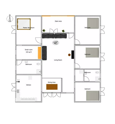 european floor plans superb 5 bedroom one story floor plans 3 european type