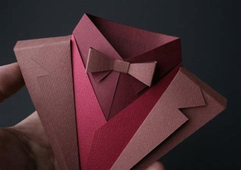 origami suit fedrigoni s suit origami makes paper look gorgeous