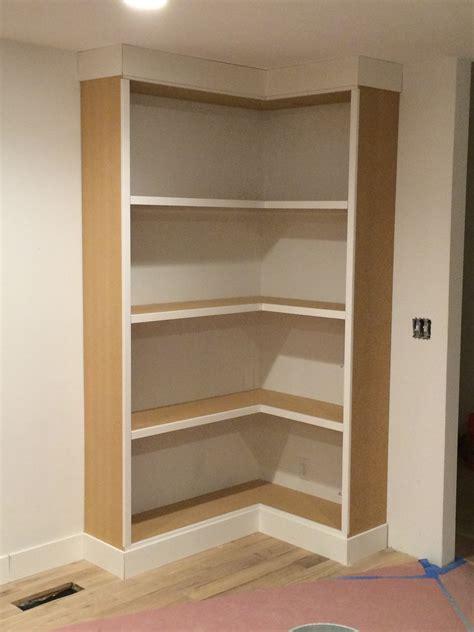 built in corner bookshelves diy corner bookcase withheart