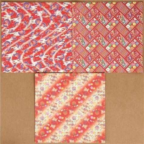 origami paper set origami paper set with japanese designs fan lotus other