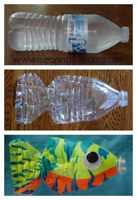 water bottle craft ideas for 17 best ideas about fish crafts on fish