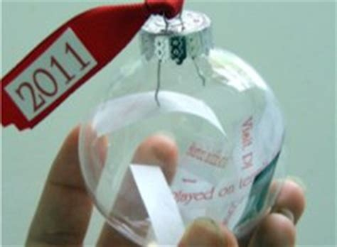 time ornaments time capsule ornament allfreeholidaycrafts