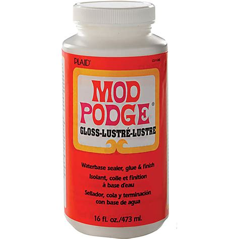 mod podge crafts for 16oz mod podge gloss glue sealer wine glass glitter
