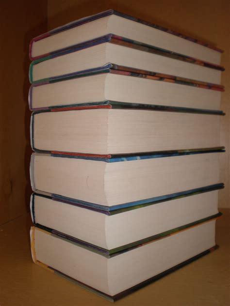 pictures of books file harry potter 1st usa ed complete hardback set