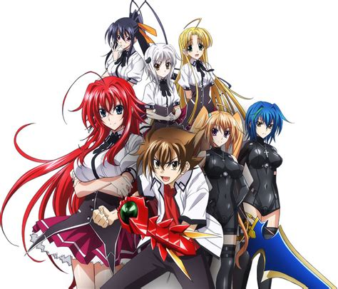 highschool dxd summer 2013 anime guide av mod material