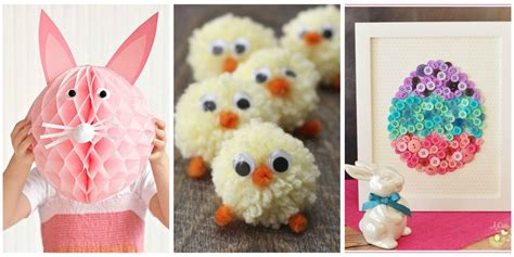 easter crafts to make for 40 easter crafts for diy ideas for kid friendly