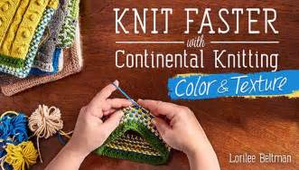 continental knitting continental knitting class colorwork texture craftsy