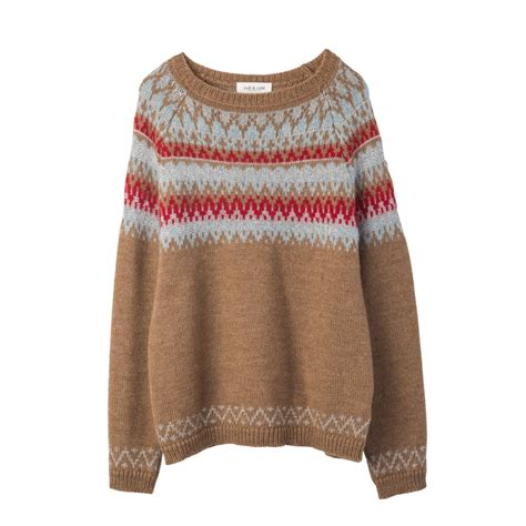 jumper patterns buy indi cold zig zag pattern jumper collen clare