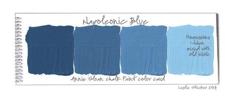 chalk paint blue colors colorways february 2014