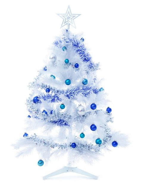 blue white tree decorating a blue white ideas inspiration