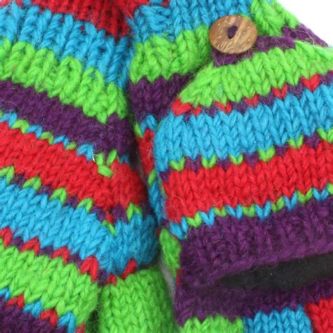 knit mittens with fleece lining fingerless gloves mittens fleece lined wool knit shooting