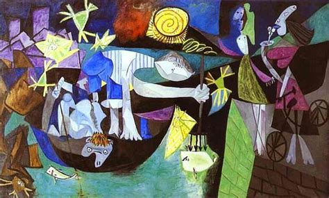 picasso paintings fish picasso in antibes the of that s how the light