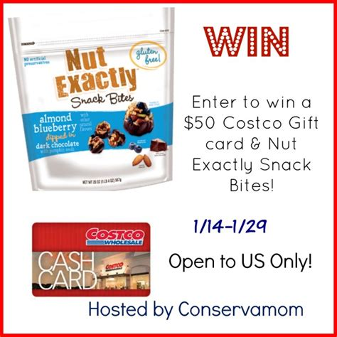 how to make costco card 50 costco gift card nut exactly prize pack giveaway