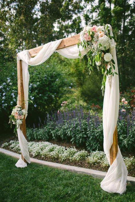 backyard photography ideas 20 diy floral wedding arch decoration ideas