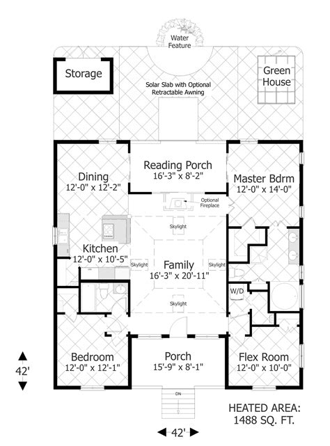 www floorplan the eco box 3107 3 bedrooms and 2 baths the house designers