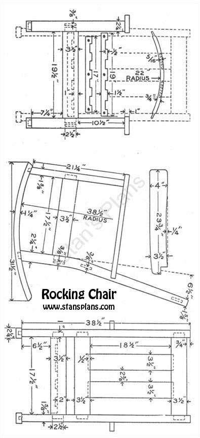 rocking woodworking plans free dollhouse furniture blueprints child s adirondack