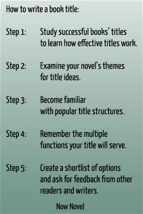 how to write a picture book how to write a book title 5 steps now novel