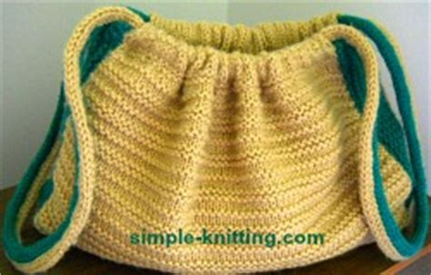 knitted purse patterns beginners knitted bag beginners knitting pattern